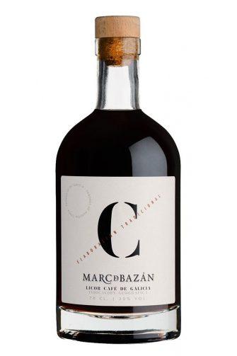Botella de Orujo de Café Marc de Bazán