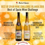 Best of Spain Wine Challenge Irlanda 2018