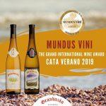 Premios MUNDUS VINI para albariños GRANBAZÁN