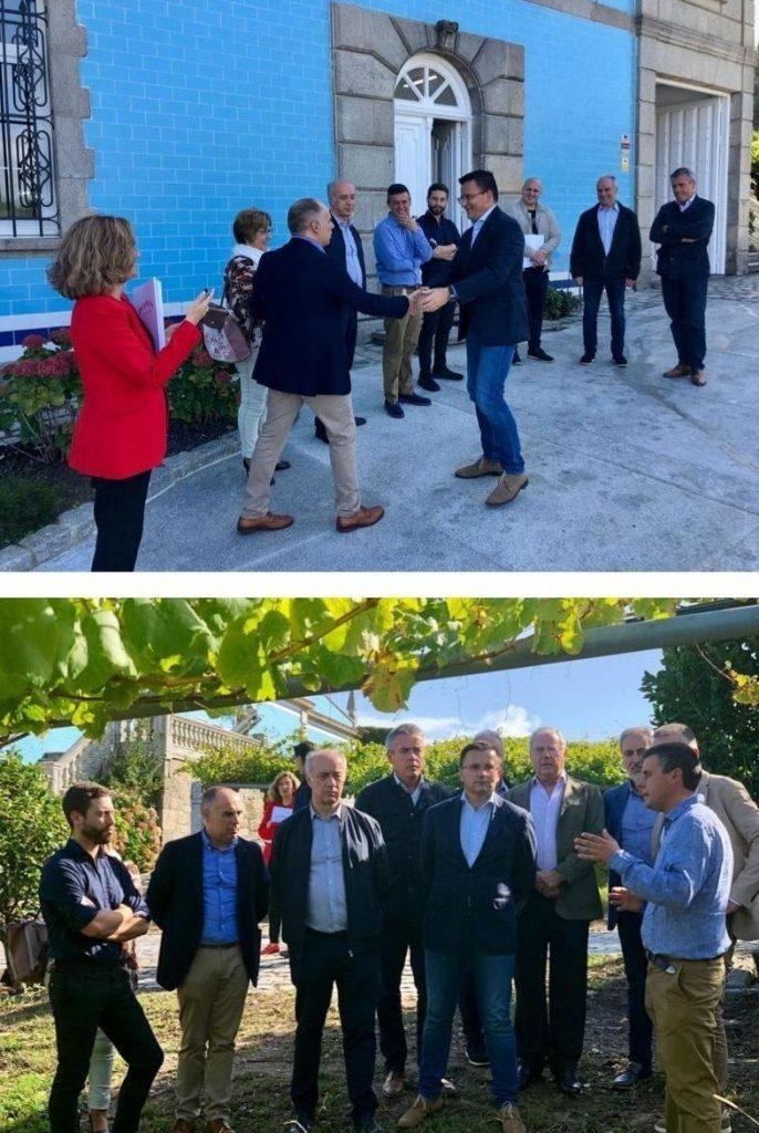 Visita del consejero del Medio Rural a Bodegas GRANBAZÁN