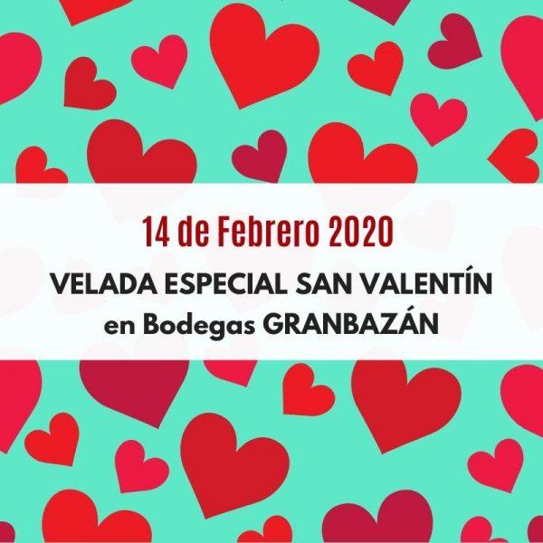 Cena especial de San Valentín en Bodegas GRANBAZÁN