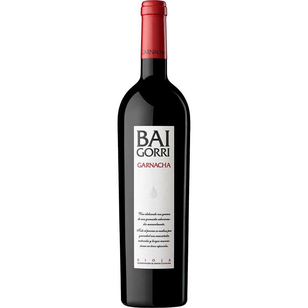 Botella de Baigorri Garnacha
