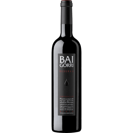 Botella de Baigorri Reserva