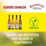 Our wines have been certified with the license of vegan products