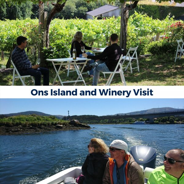 Experiences in Granbazan. Ons Island