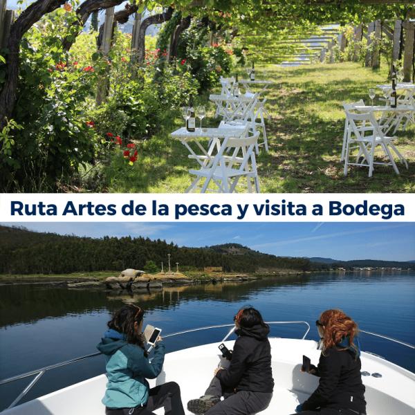Experiencias en Granbazan. Ruta Artes de la Pesca