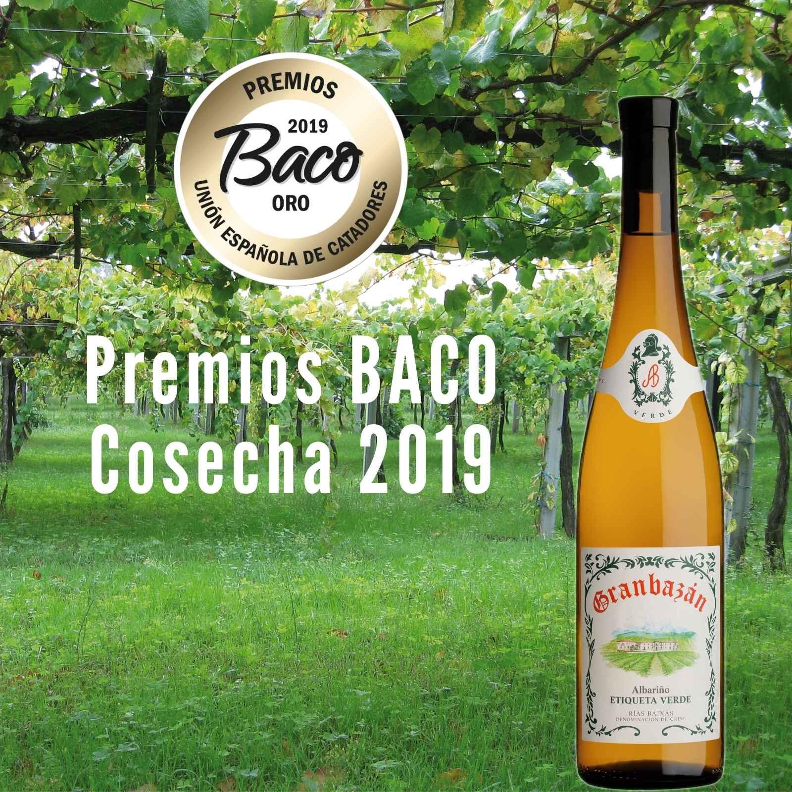 Premio BACO de Oro para GRANBAZÁN Etiqueta Verde