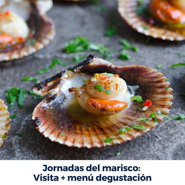 Jornadas Marisco Menu Degustacion Granbazán