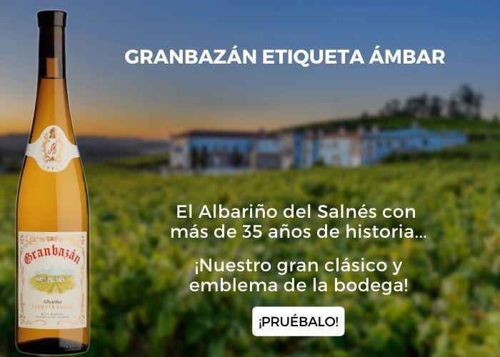 Bodegas Granbazán presentación Etiqueta Ámbar