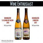 Puntuaciones de Wine Enthusiast para Bodegas Granbazán