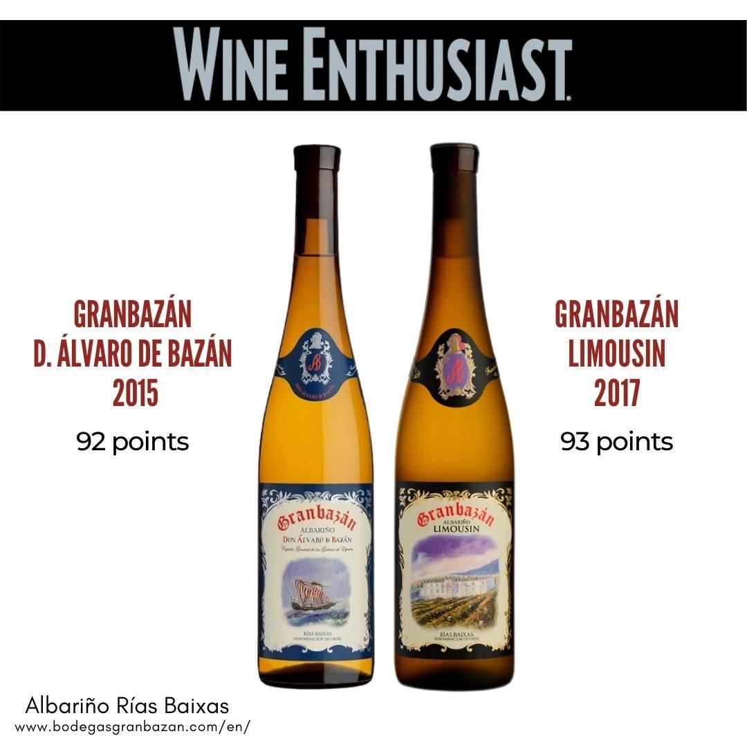 Points Wine Enthusiast Bodegas Granbazán