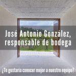 José Antonio es responsable de bodega en Granbazán