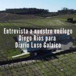 Entrevista a nuestro enólogo Diego Ríos en Bodegas Granbazán