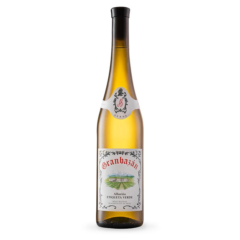 Botella de Granbazán Etiqueta Verde